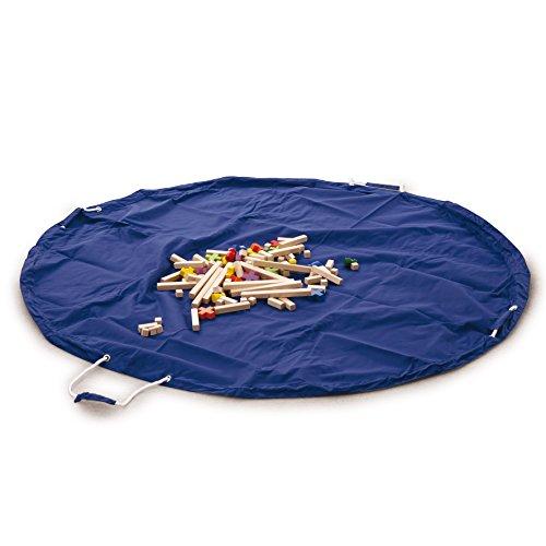 Bolsa de limpieza Erzi y frazada, jugar estera, bolsa de almacenamiento