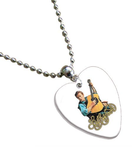 gordon-lightfoot-love-heart-chitarra-pick-collana-necklace-band-plettro-plettri