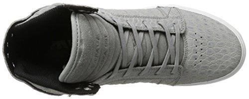 Supra 08174, Scarpe da Ginnastica Alte Uomo Grau (Grey Cayman)
