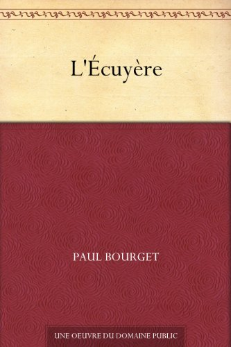 Couverture du livre L'Écuyère
