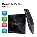 Mini Android,Beelink GT1-A TV Box,Netflix Soutien,Google Certifiée,Android 7.1,RAM 3Go+ROM 32Go,Processeur Amlogic S-912 Octa Core Arm Cortex-A53,WiFi 2.4G/5.8G 1000Mbps,3D,4K,H.265,OTG,Couleur Noire