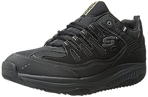 Skechers Shape-Ups XT All-Day Comfort Herren Sneakers, Schwarz (Schwarz/Anthrazit), 41