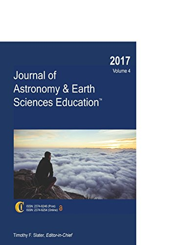 Science Education Earth (2017 Journal of Astronomy & Earth Sciences Education (Volume 4))