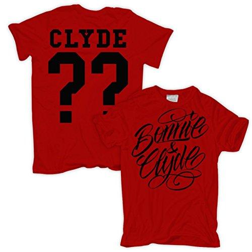 WUNSCHZAHL Bonnie & Clyde BLACK Rot
