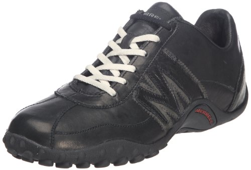 Merrell SPRINT BLAST, Sneaker uomo, Multicolore (BLACK/SCARLET), 44