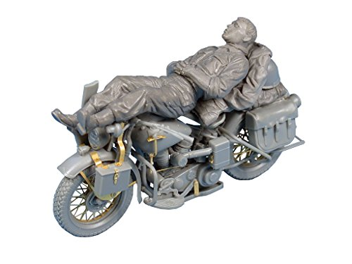 MiniArt 35176 - Modellbausatz Rest on Motorcycle