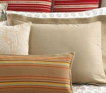Ralph Lauren Antigua Standard Sham - Khaki