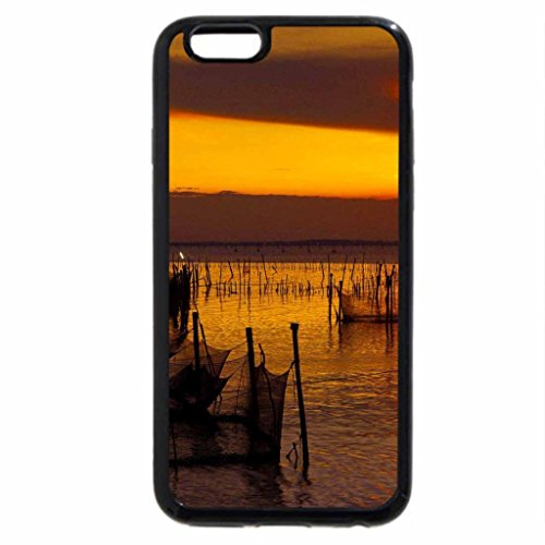 iPhone 6S / iPhone 6 Case (Black) DUSK at FISHING SPOT