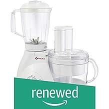 (Renewed) Bajaj FX 11 600-Watt Mixer Grinder with 3 Jars (White)