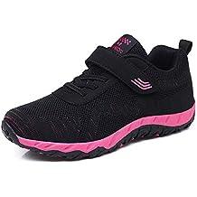 outlet store c8d81 5583c Zapatillas de Deportivos de Running para Mujer Net para Estudiante Volar  Zapatos Ligero y Comodo Zapatillas