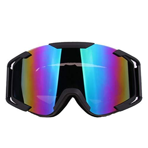 KnBoB Skibrille Entspiegelt Motorradbrillen Für Brillenträger Sonnenbrille UV Schutz Sport Brille Klar Mehrfarbig