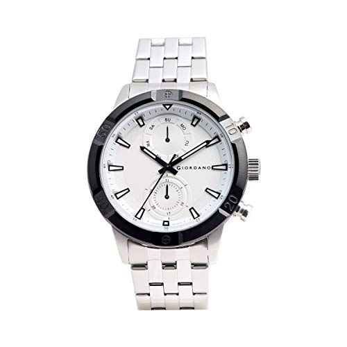 Giordano Analog White Dial Men's Watch-1984-44