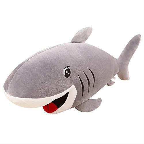 Ferocious Shark Plush Toy, Cotton Filled doll, sea Animal Funny doll, Baby Sleep Play Gift 1pc 100cm (Stofftier Valentine Minion)