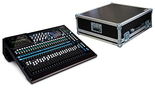 Allen & Heath QU-24C Mischpult Set mit Haubencase (24-Kanal Digital-Mischpult, inkl. Haubencase von Gäng Case)
