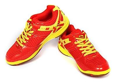 Li-Ning Super Star Badminton Shoes Red / Yellow