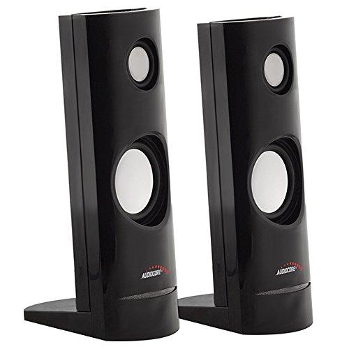 Audiocore-AC860-8W-35mm-USB-Portable-Bookshelf-Speaker-Set-PCLaptopTablet