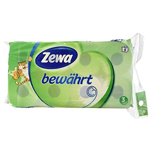 Zewa bewährt 3-lagig, 1er Pack (1 x 8 Stück)