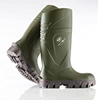 Bekina Steplite XCI Full Safety Welly Green Wellington Boot Insulated Sizes 4-13