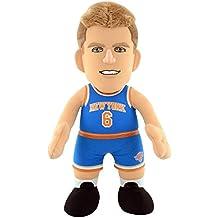 NBA New York Knicks Kristaps Porzingis Plush Figure, 10-inch, White by Bleacher