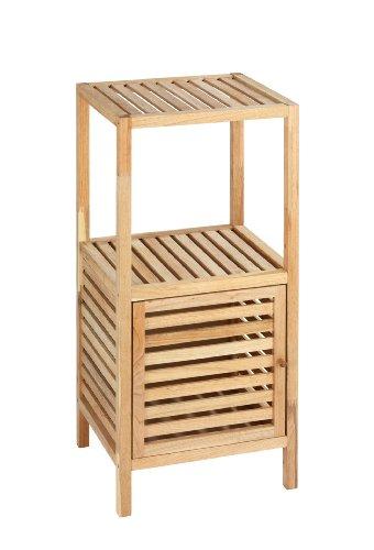 wenko-norway-estanteria-con-puerta-para-el-bano-y-el-hogar-madera-de-nogal-395-x-86-x-355-cm