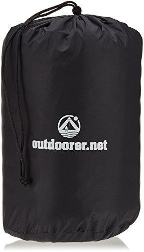 Outdoorer Trek Bed 2, ultraleicht, 5cm selbstaufblasbare Isomatte, kleines Packmaß