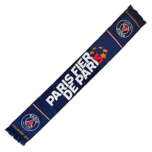 PSG – Bufanda – para hombre azul azul Talla única