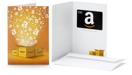 Amazon.co.uk Gift Card - In a Greeting Card - £25 (Amazon Boxes) Test