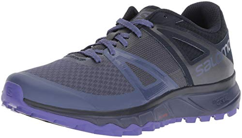 Salomon TRAILSTER W, Calzado de Trail Running para Mujer, Azul (Crown Blue/Navy Blazer/Purple Opulence), 37 1/3 EU