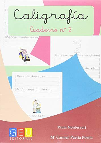 Caligrafía con Pauta Montessori - Cuaderno 2