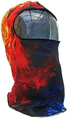 Costumes Flamme - Musculation Masque Visage