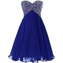 Robe bleu roi argent