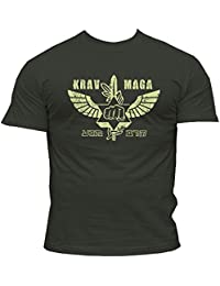 Dirty Ray Arts Martiaux MMA Krav Maga t-shirt homme K49