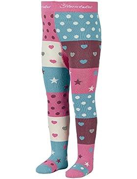Sterntaler Strumpfhose mit Sternen und Herzen für Mädchen
