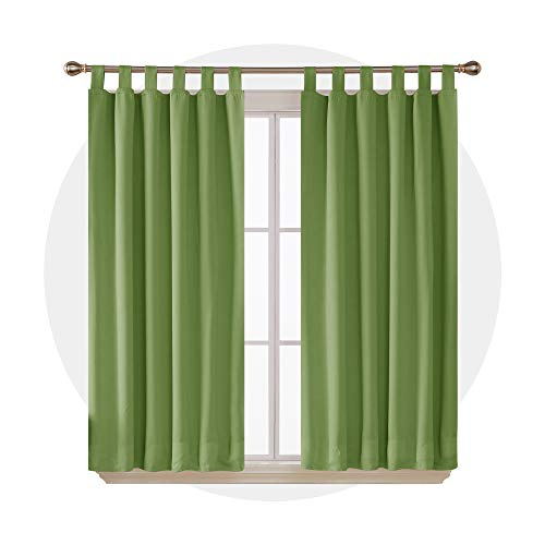 Deconovo Cortinas Dormitorio Moderno Tela Suave Gruesa