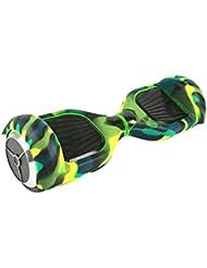 Feicuan Carcasa de silicona Waterproof protección Cover Skin para 6.5 inch 2 Wheels Electric Balance Scooter -Green
