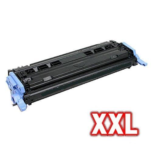 1600 Toner-kit (Print-Klex kompatibler XL Toner SCHWARZ für HP Q6000A 124A Color LaserJet 1600 Color LaserJet 2600 Color Laser Jet 2600N BLACK)