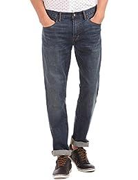 GAP Men's Straight Fit Medium Stretch Jeans