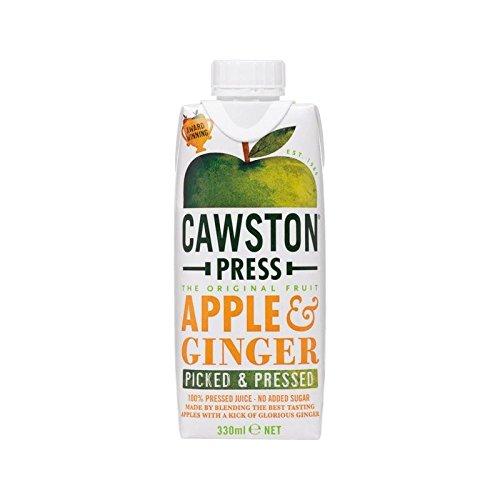 Cawston Presse Pomme Et Gingembre Dreamcap 330Ml (Paquet de 4)