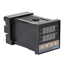 PID Temperatuur Controller Relais Output Thermokoppel REX-C100FK02-M*een Digitaal 0-400°C