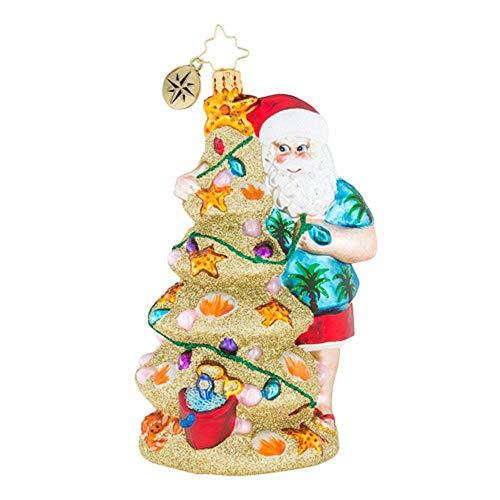 Christopher Radko Weihnachten in der Sand Weihnachten Ornament (Der In Weihnachten Ornamente Masse)