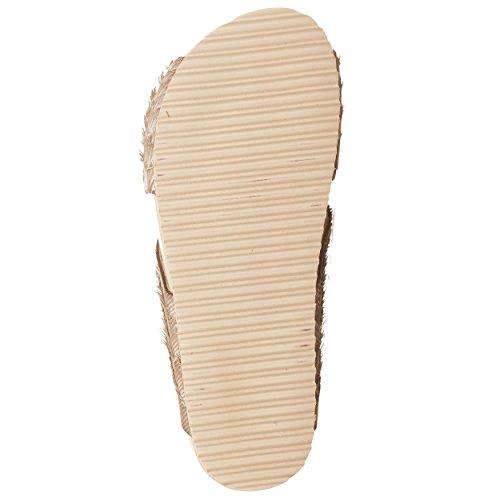 VialeScarpe  Gar-589212mf_37, Sandales pour femme beige beige 37 Beige
