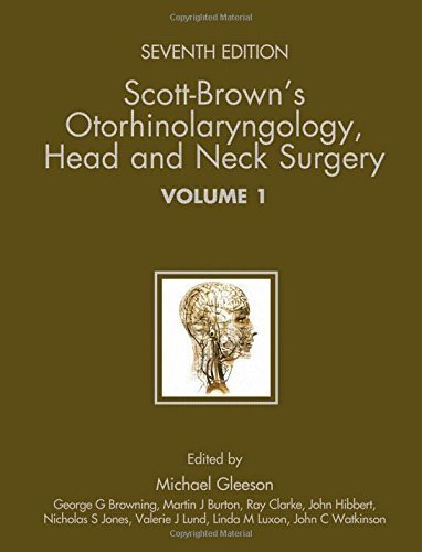 Scott-Brown's Otorhinolaryngology: Head and Neck Surgery (3 volume set) (2008-04-25)