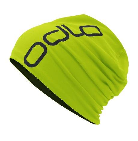 Odlo Hat Reversible Mütze, Acid Lime-Black