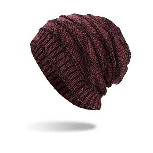 iHENGH Street Classics Strickmützen Feste Farbe LäSsige Schal-Stirnband Mode Solid Muffler Kopfbedeckung Cap Sleeve Cap (Halloween-kostüme Kreative College)