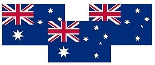 Henbrandt 3 X Australische Flaggen 5ft X 3ft Australia Day Aussie Party-Dekoration Banner