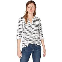 TOM TAILOR für Frauen Blusen, Shirts   Hemden Gepunktete Bluse bbeffe0613
