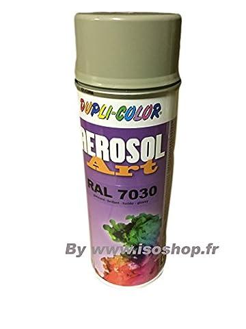 Dupli Peinture aérosol Teinte Couleur Gris pierre RAL 7030 Spray