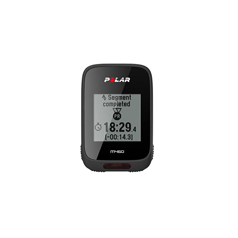 POLAR Unisex's M460 GPS Bike Computer Without Heart Rate, Black, One Size