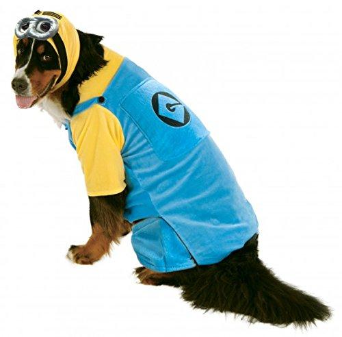 Pet Dog Minion Kostüm (Hund Minion Kostüm Xxl)