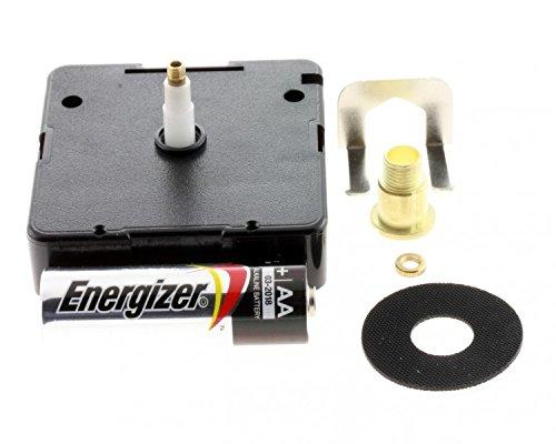 Junghans 838 Quarzwerk Uhrwerk verschiedene Längen Quarz incl.Batterie u Zubehör, Zeigerwerkhöhe:10 mm